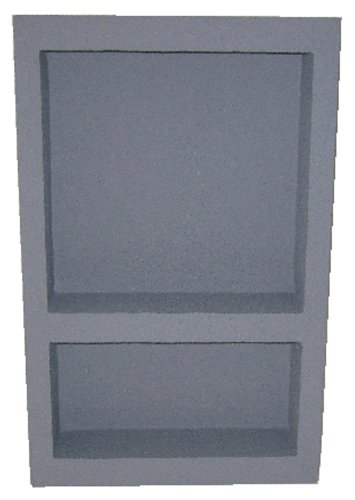 Preformed Double Recessed Shower Niche [Size:14x22] - Ready to Tile & Waterproof