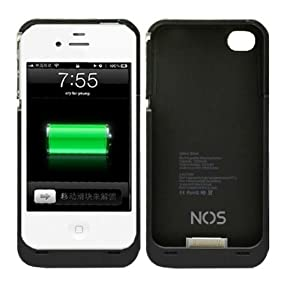 NOSTeck 3200mAh iPhone 4 4S 4G Battery Charger Case External Rechargeable Backup 3200mAh