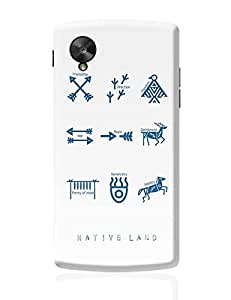 PosterGuy Google Nexus 5 Case Cover - Native Land design | Designed by: Glam and Groove
