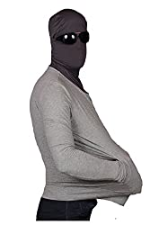 Kisha Sunscreen All-in-1 Jacket L-xl, Ultra Light Summer Jacket; Light Grey Colour; Mens; L-xl Size (46-48 In)