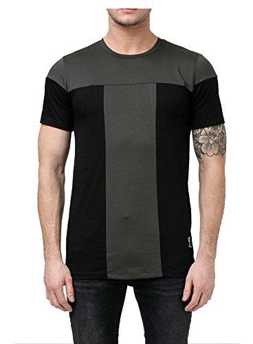Metallo Scuro RELIGION Abisso Girocollo Tshirt L