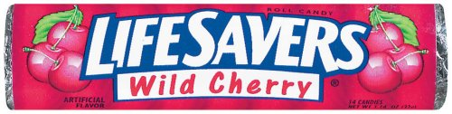 Buy Life Savers Candy Wild Cherry, 1.14-Ounce Rolls (Pack of 60) (Life Savers, Health & Personal Care, Products, Food & Snacks, Snacks Cookies & Candy, Candy)