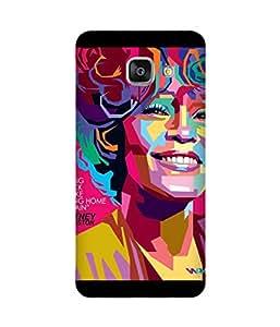 Whitney Houston Samsung Galaxy A3 Case