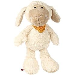 sigikid, Mädchen und Jungen, Stofftier Schaf groß, Emmala, Sweety, Weiß/Orange, 37988