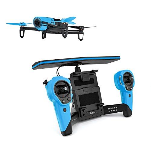 Parrot-Bebop-Drohne-Parrot-Skycontroller-blau