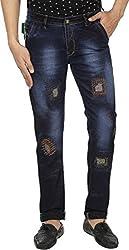 Spuro Men's Regular Fit Jeans_02_Blue_30