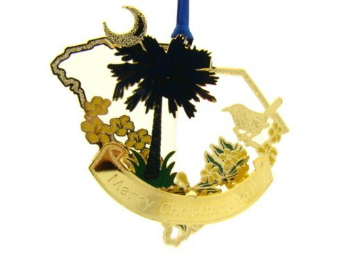 Baldwin Across America South Carolina Palmetto Ornament