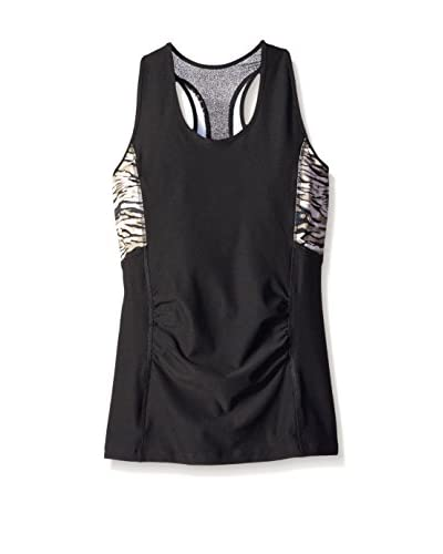 ABS by Allen Schwartz Activewear Women's Printed Tank Top
