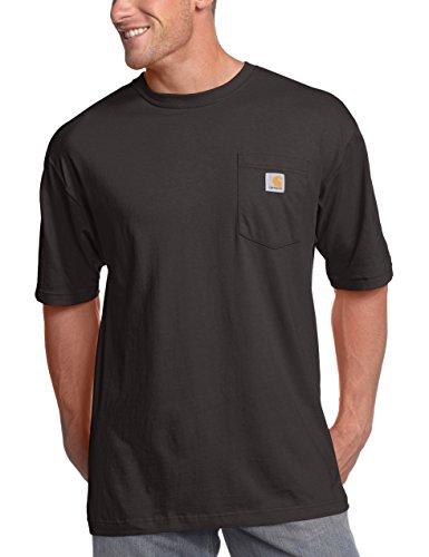 Carhartt Men's Big & Tall Workwear Pocket Short Sleeve T-Shirt Original Fit K87,Black,2X-Large Tall (Big And Tall Work Boots compare prices)