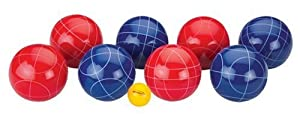 Halex Select Bocce Set (100mm Resin Balls)