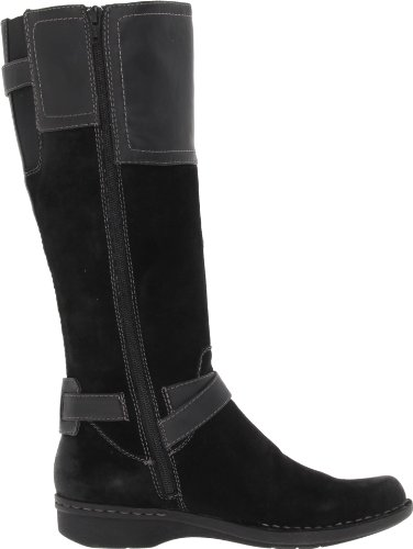 New Clarks Whistle Woven Black Ladies 8 Pretty In Boots