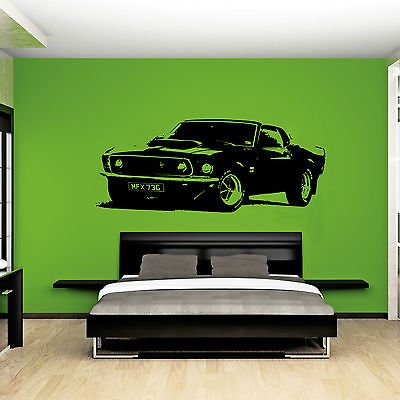 xl-auto-ford-mustang-1969-lavavetri-senza-muscolare-wall-art-decal-sticker-nero-black-xtra-large-144