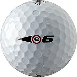 Bridgestone Golf e6 Straight Flight White Golf Balls (2015) from Bridgestone