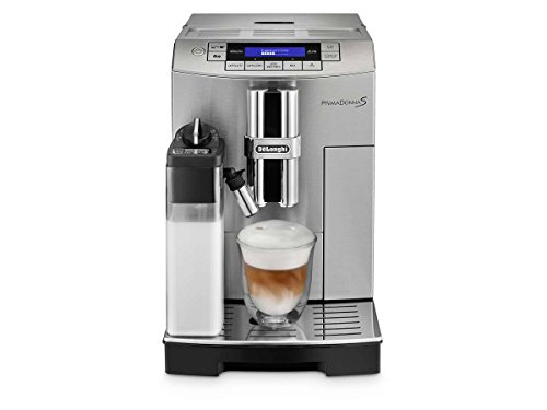 DeLonghi ECAM28465MB Prima Donna Super Fully Automatic Espresso and Cappuccino Machine, Silver-Black (Delonghi Retro Toaster Oven compare prices)