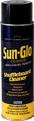 Big Save! Sun-Glo Shuffleboard Spray Cleaner