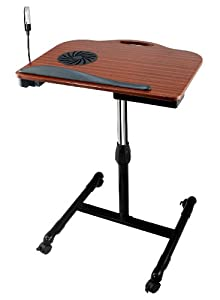Tsir Tech® TT LD82 Adjustable Wooden Laptop Desk with Built in Cooling Fan available at Amazon for Rs.24900
