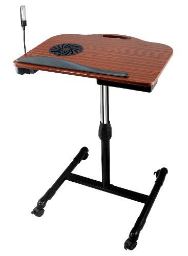 Buy Bargain Tsir Tech® TT-LD82 Adjustable Wooden Laptop Desk with Built in Cooling Fan
