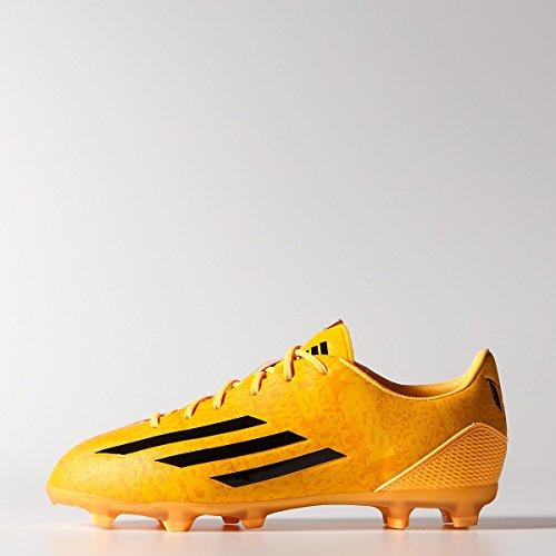 buy popular cdd04 e6197 Adidas Junior F50 adizero-Messi (Synthetic) Youth TRX FG Soccer Cleats  (Solar Gold Black)