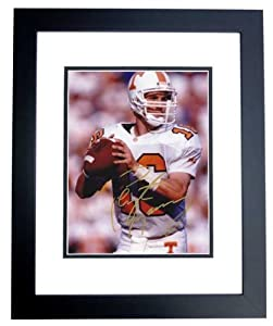 Peyton Manning Autographed Hand Signed Tennessee Volunteers 8x10 Photo - BLACK CUSTOM... by Real+Deal+Memorabilia