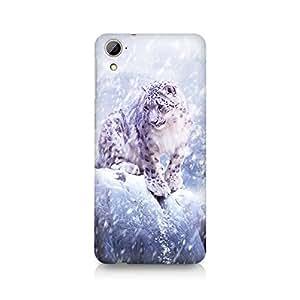 Mobicture Cheeta In Snow Premium Printed Case For HTC Desire 826
