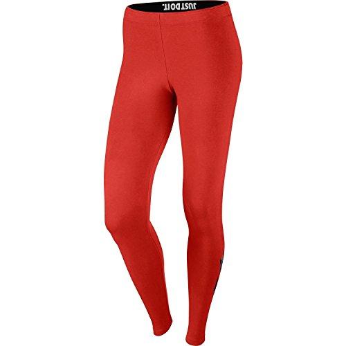 Nike Womens Leg-A-See Just-Do-It Camo Print Leggings Lite Crimson 744299-696 Size Large