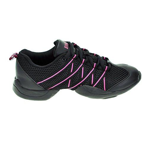 bloch-524-pink-criss-cross-sneaker-5-uk-8-us