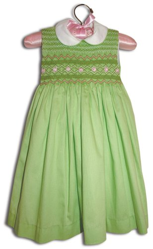 Farfalla Hand smocked girl spring-green party dress - Size 1 - Buy Farfalla Hand smocked girl spring-green party dress - Size 1 - Purchase Farfalla Hand smocked girl spring-green party dress - Size 1 (Farfallina For Kids, Farfallina For Kids Dresses, Farfallina For Kids Girls Dresses, Apparel, Departments, Kids & Baby, Girls, Dresses, Girls Dresses, Baby Doll & Sundresses)
