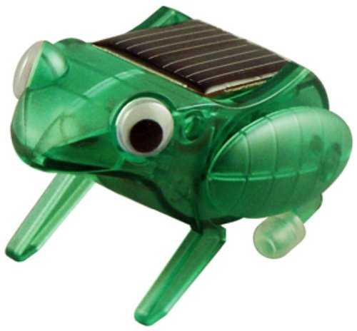 OWI  Happy Hopping Frog Kit   Solar Powered