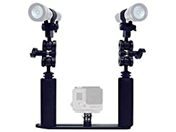 Bigblue GP1100 Kit - Tray and Arms for GoPro and AL1100 lights