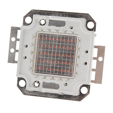 Ggb- Diy 50W 2000-2500Lm Red Light 620-625Nm Square Integrated Led Module (22-24V)