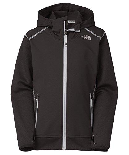 The North Face Big Boys' Kilowatt Jacket (Sizes 8 - 20) - black, m/10-12