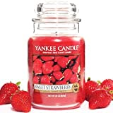 Yankee Candles Jar Candle (Large) (Sweet Strawberry)