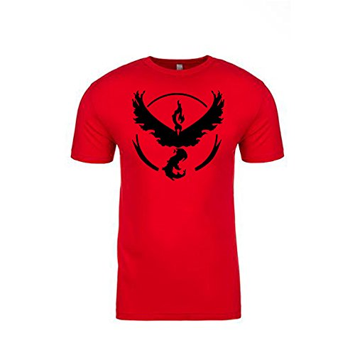 Pokemon-Go-Shirt-Team-Valor-Emblem-Logo-Pokmon-GO-Shirt-Gym-Unisex