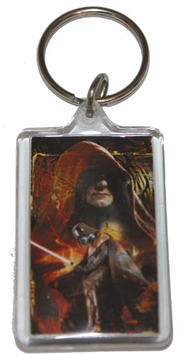 Licenses Products Star Wars Darth Bow Lucite Keychain