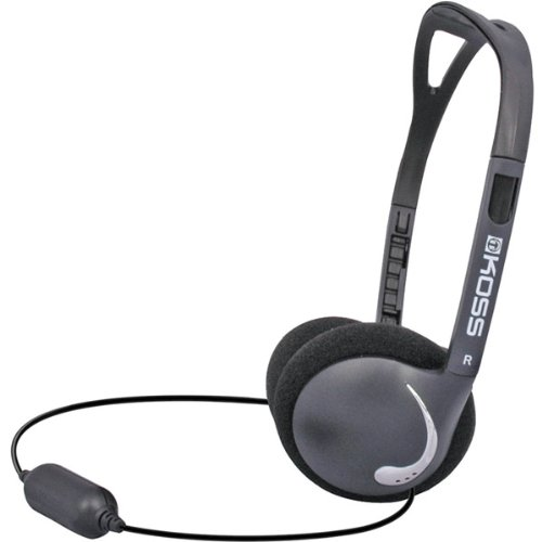 Brand New Koss Black Ultra-Lightweight Headphones With Folding Design