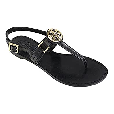 Tory burch cassia french calf flat thong for Tory burch jewelry amazon