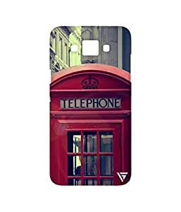 Vogueshell Vintage Telephone Printed Symmetry PRO Series Hard Back Case for Samsung Galaxy Grand Max