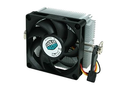 Cooler Master AMD Socket FM2 / FM1 / AM3 / AM2 / 1207 / 940 / 939 / 754 3-Pin Connector CPU Cooler With Aluminum Heatsink & 2.75-Inch Fan For Desktop PC Computer (Cpu Cooler For Am2 compare prices)
