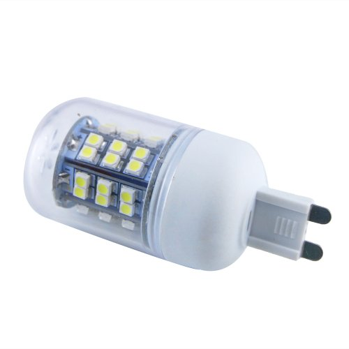 Thg 4Pcs Energy Saving G9 48 Smd 3528 Led 280Lm Cool White Ultra Bright Corn Light Lamp Bulb 6000-6500K Equivalent Halogen 40W