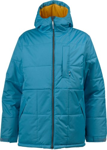 Burton Ante Up Puffy Snowboard Jacket Argon Mens Sz M