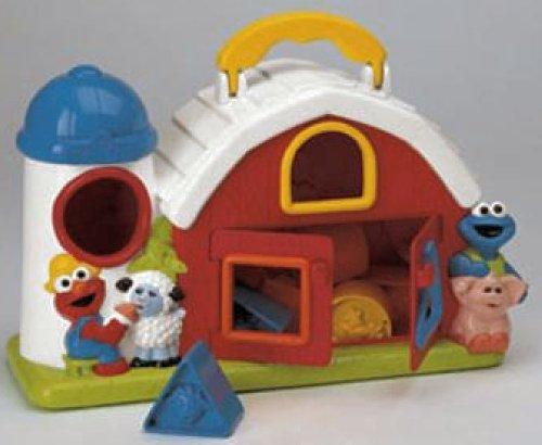 Sesame Street Barn Shape Sorter - 1