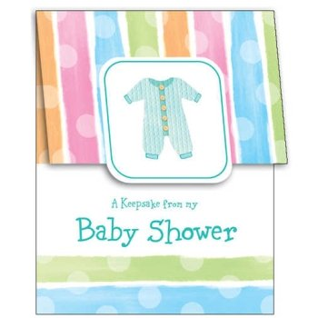 Baby Shower Clothes Keepsake Registry - Each - 1