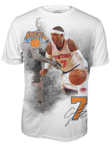 Carmelo Anthony New York Knicks Infinity Performance Tee