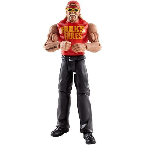 Wwe Wrestlemania 31 Heritage Series Hulk Hogan Action Figure By Mattel Picture