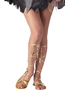 California Costumes Women's Goddess Sandal Costume Accessory from California Costumes
