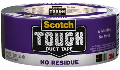 3M P2425 2-Inch x 25-Yard No-Residue Painter's Duct Tape