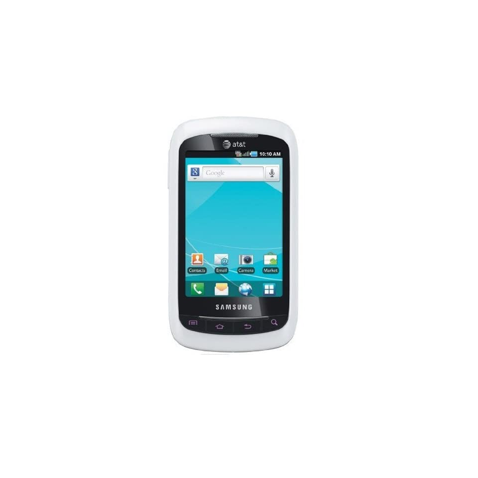 Samsung DoubleTime I857 Unlocked GSM Phone with Android 2.2 OS, Multi Touchscreen & TouchWiz UI, QWERTY Keyboard, 3.15MP Camera, GPS, Bluetooth and microSD Slot   White/Black
