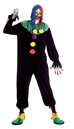 Boys Joker Jack Kids Child Fancy Dress Party Halloween Costume