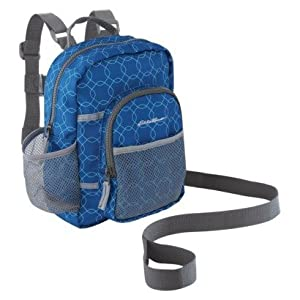 Eddie Bauer Toddler Blue Backpack Harness with Leash