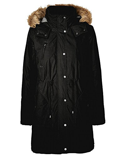 Vero Moda Cappotto Catch 3/4 Parka 10117100 Black nero XS
